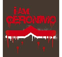 I Am Geronimo Photographic Print