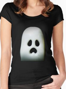 More Ghosts and stuff Women's Fitted Scoop T-Shirt