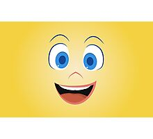 Joy is happy to see you - Inside Out Photographic Print