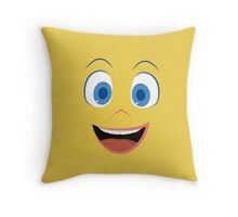 Joy is happy to see you - Inside Out Throw Pillow