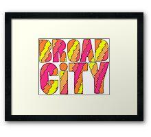 Broad City Framed Print