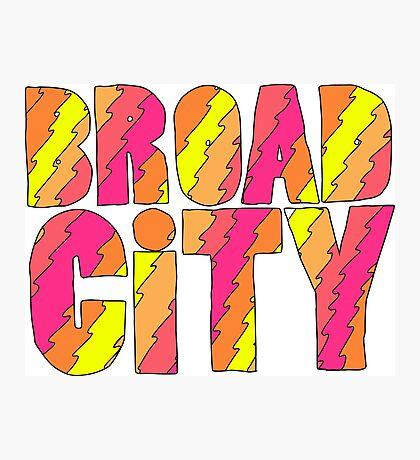 Broad City Photographic Print