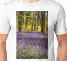 Purple and Yellow Unisex T-Shirt