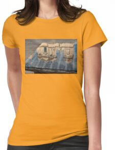 Reflecting on Noto Cathedral Saint Nicholas of Myra - Sicily, Italy Womens Fitted T-Shirt