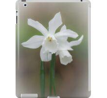 White Daffodil iPad Case/Skin