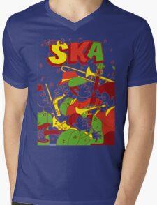 This Is Ska Mens V-Neck T-Shirt