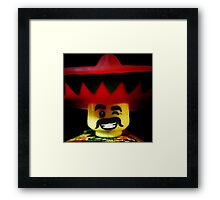 The Friendly Mexican Framed Print