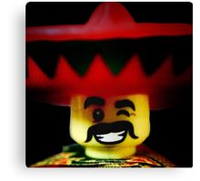 The Friendly Mexican Canvas Print