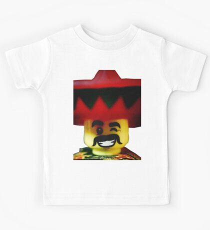 The Friendly Mexican Kids Tee