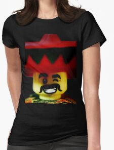 The Friendly Mexican Womens Fitted T-Shirt