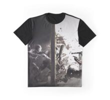 RAINBOW COMBAT DESIGN Graphic T-Shirt