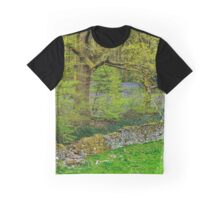 Bluebell Woods in the Lake District Graphic T-Shirt