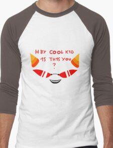 Terezi H3Y COOL K1D 1S TH1S YOU? Men's Baseball ¾ T-Shirt