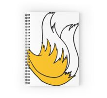Tails Tail Spiral Notebook