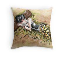 Sleeping Midnight Throw Pillow