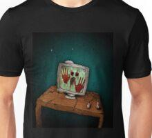 Digital Inferno - Scary Story Illustration Unisex T-Shirt