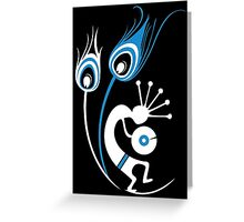 Wasted In Bombay - Blue Logo Promo Wordless Greeting Card
