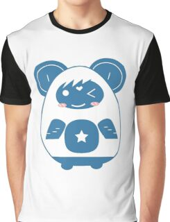 Stickers Animals cartoon style.  Graphic T-Shirt
