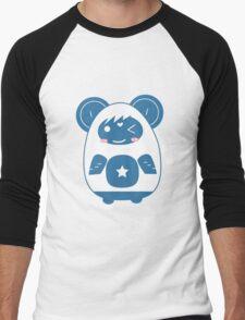 Stickers Animals cartoon style.  Men's Baseball ¾ T-Shirt