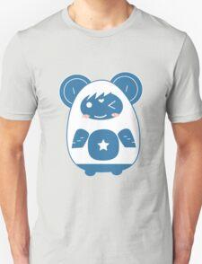 Stickers Animals cartoon style.  T-Shirt