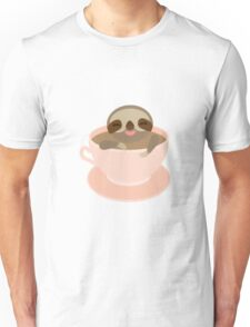 Sloth in a cup 3 Unisex T-Shirt