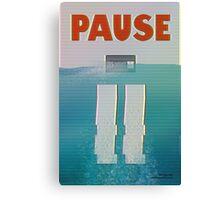 Pause Canvas Print
