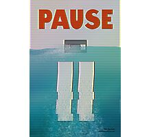 Pause Photographic Print