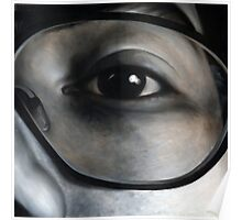 Lens, 100-100cm, 2010, oil on canvas Poster