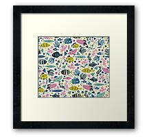 Little Fish Framed Print
