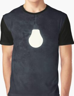 Light Up the Night (Navy Blue) Graphic T-Shirt