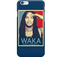 Waka flocka flame for president iPhone Case/Skin