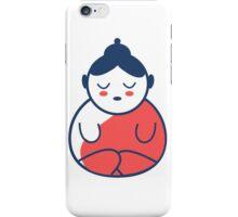 Buddha tattoo, yoga, spirituality. iPhone Case/Skin