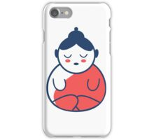 Buddha tattoo, yoga, spirituality. iPhone Case/Skin