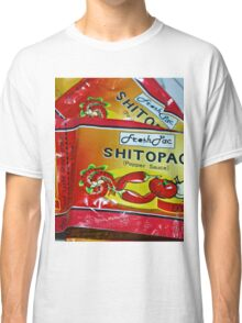 Shito.. not shit.... Very Hot pepper Sauce from Ghana, West Africa Classic T-Shirt
