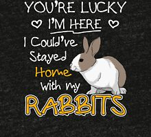 Rabbits - You're Lucky Tri-blend T-Shirt