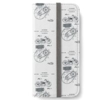 Indian Motorcycle Patent 1943 iPhone Wallet/Case/Skin