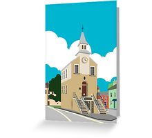 Narberth Clocktower Greeting Card