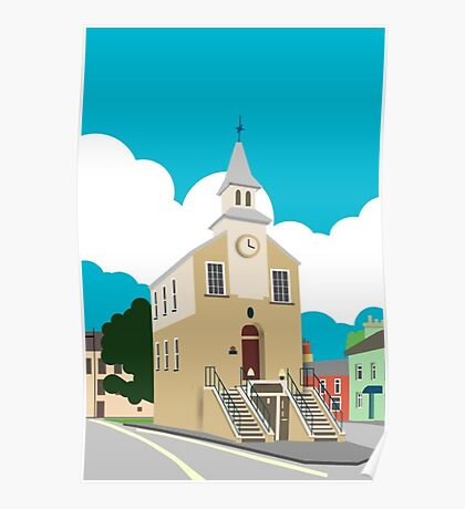 Narberth Clocktower Poster
