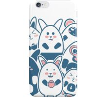 Stickers Animals cartoon style.  iPhone Case/Skin