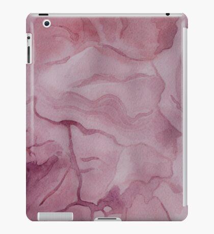 Purple Watercolor Marble Texture iPad Case/Skin