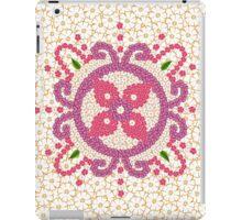 Hindu Flower Ornament Background iPad Case/Skin