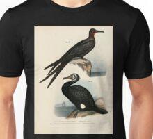 Bilder atlas zur Wissenschaftlich populären Naturgeschichte der Vögel in ihren sämmtlichen Hauptformen Leopold Joseph Fitzinger 1864 157 Unisex T-Shirt