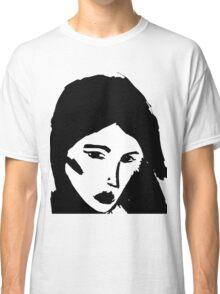 Girl in black Classic T-Shirt