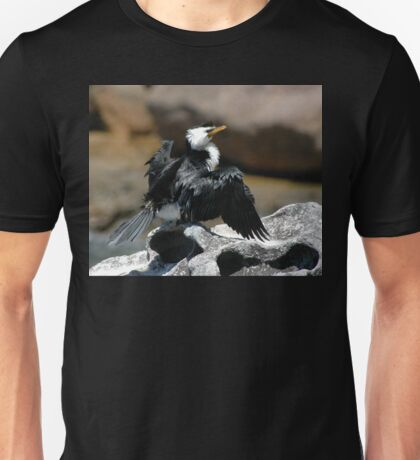 Cormorant @ Sculptures By The Sea 2011 Unisex T-Shirt