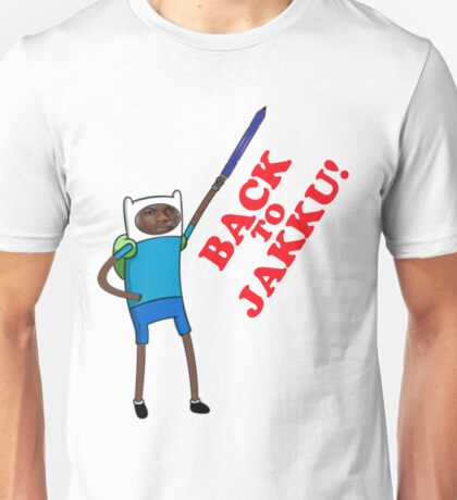 Finn's going back Unisex T-Shirt
