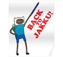 Finn's going back Poster