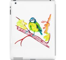 Little Autumn Blue Tit iPad Case/Skin