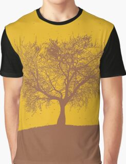 Two Tone Tree Trap Graphic T-Shirt