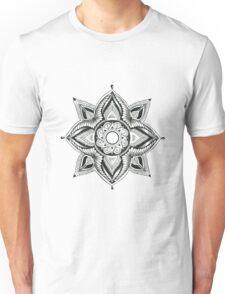 Sacred Geometry Lotus Unisex T-Shirt