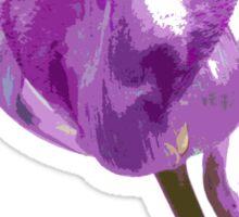 Overblown Tulip 03b Sticker